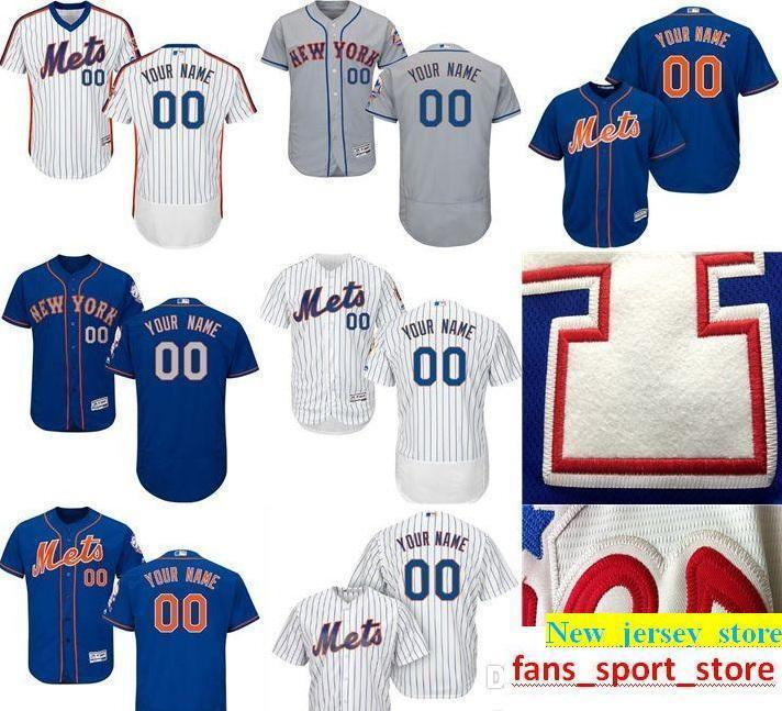 528c2c58d 2019 2019 CUSTOM Nw York Mets Mens Women Youth Customized Majestic 100%  Stitched Baseball Jerseys Personal Name Person Number SIZE S XXXL From  Heimei shop