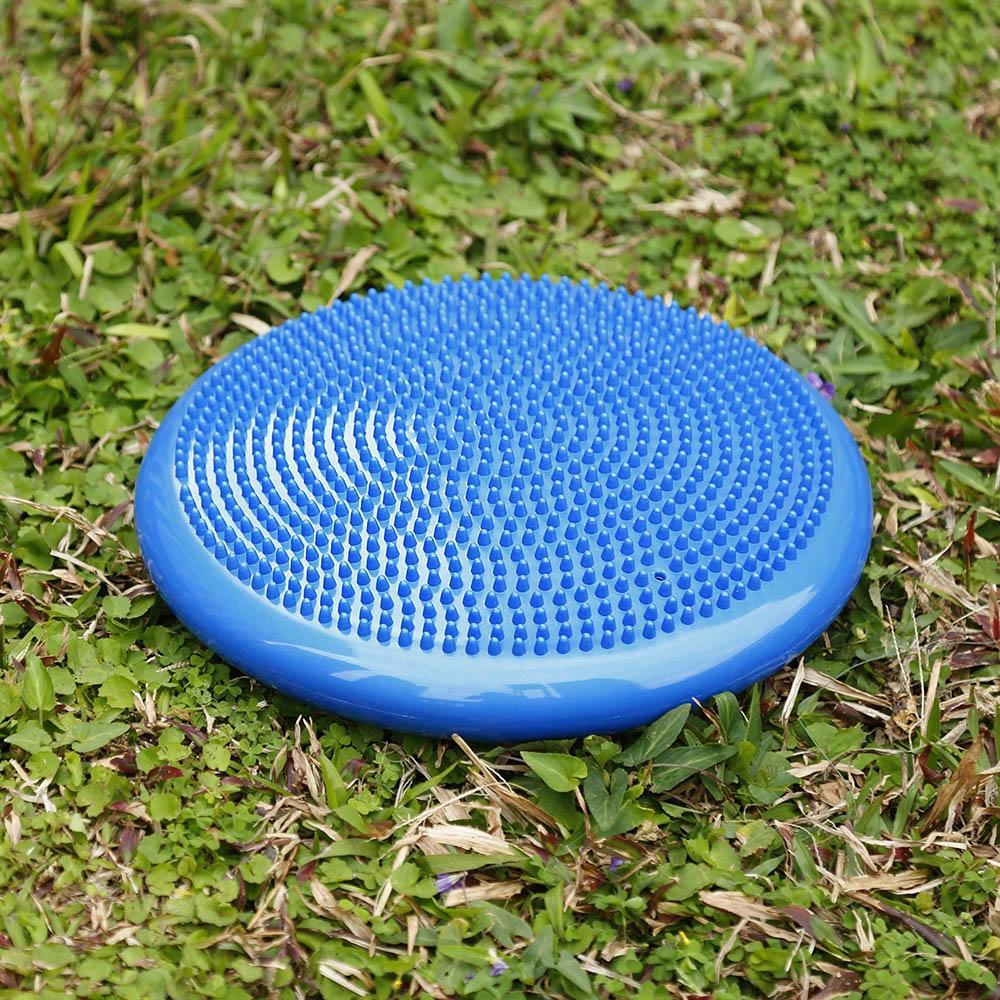 Acheter Yoga Gonflable Durable Stabilité Wobble Équilibre Disque Disque  Coussin De Massage Tapis 33 Cm De Diamètre 65478f6a24a