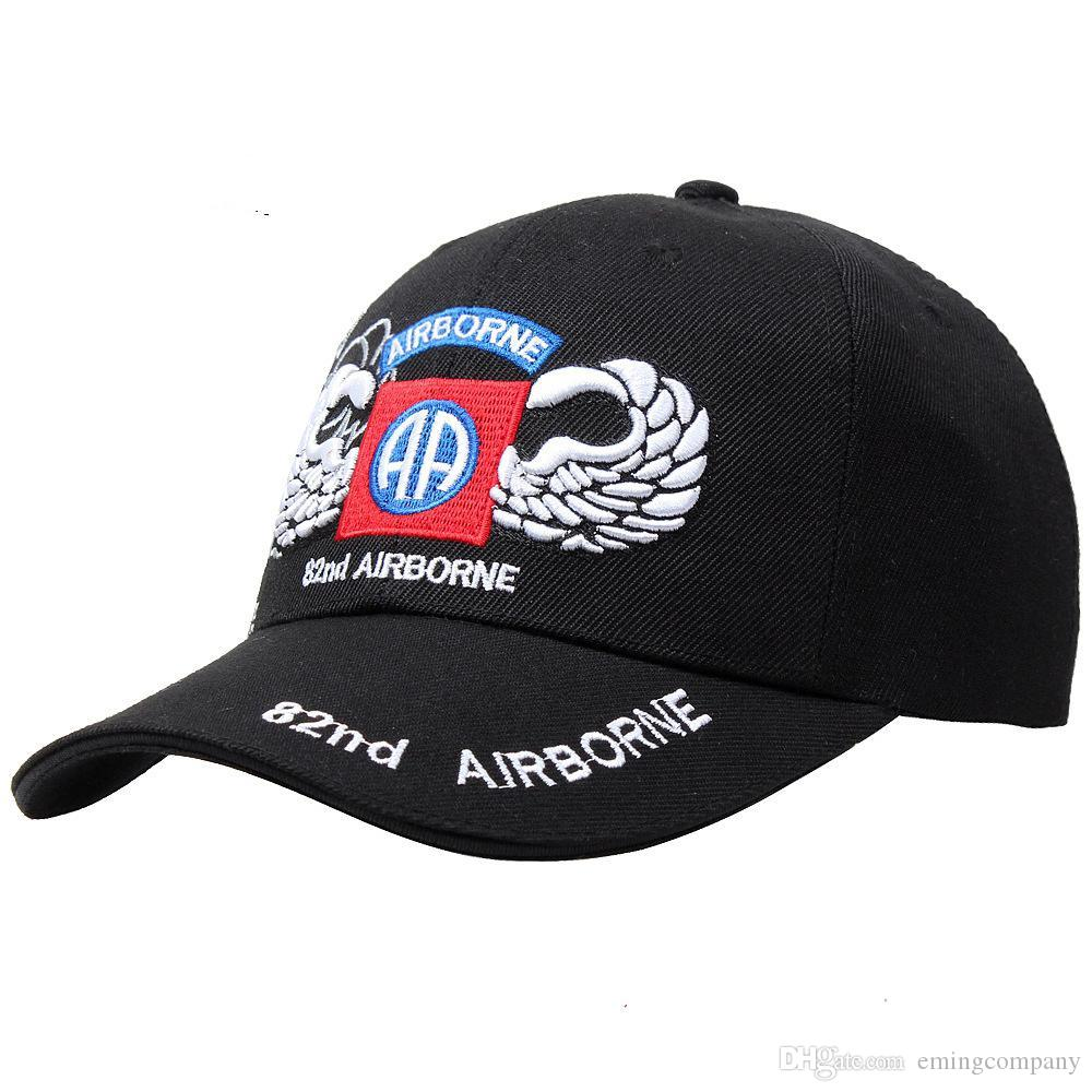 4f9e99aeb The US Army Caps Cotton Adjustable Sports Military Hats The 101th D82  Airborne Blackwater Security Guards Coast Guard Marine Corps Navy Seal