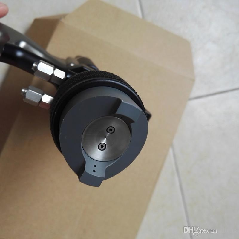 double buse pistolet nano outil de pulvérisation peinture de haute qualité outil PE pistolet pulvérisateur à base aqueuse à deux composants adhésif externe mélangé