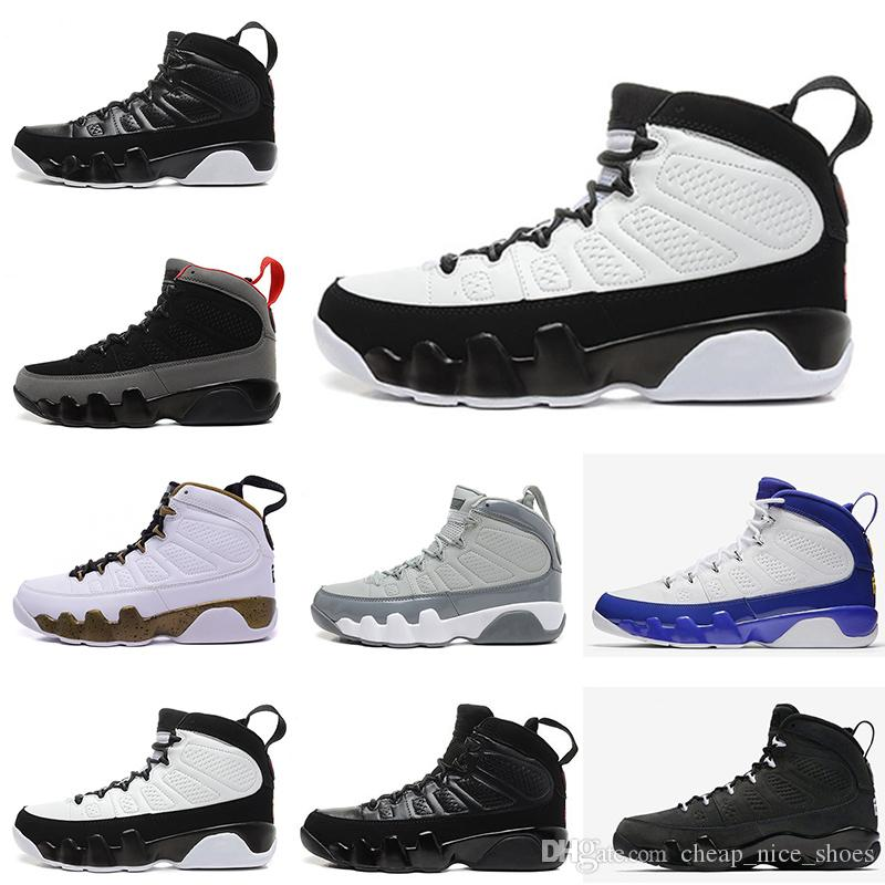549ea4d46fe107 2018 9 9s Men Basketball Shoes LA Bred OG Space Jam Tour Yellow PE  Anthracite The Spirit Johnny Kilroy Sports Trainers Sneakers Shaq Shoes Kd  Basketball ...
