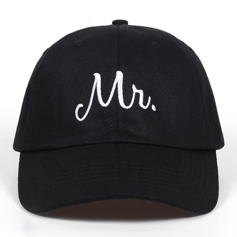 Mr Letter Embroidery Baseball Cap Washed Soft Cotton Snapback Hats Men  Women Couple Gifits Adjustable Golf Caps Hat Bone Gorras Baseball Caps  Cheap Baseball ... 7a761416ef6