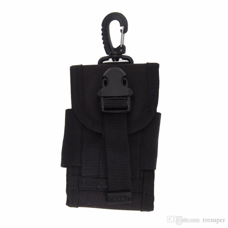 Outdoor Camping Hunting Bags Tactical Molle Cell Phone Case Bag Nylon Buckle Waist Pouch Pack Outdoor Sports Survival Tools