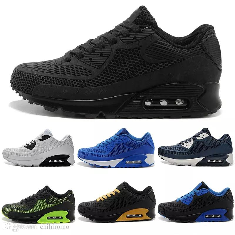 grande vente 84705 9279f nike air max 90 kpu airmax 2017 alta calidad zapatos casuales Cushion Alr  90 KPU Mens Classic 90 zapatos casuales zapatillas de deporte zapatillas de  ...