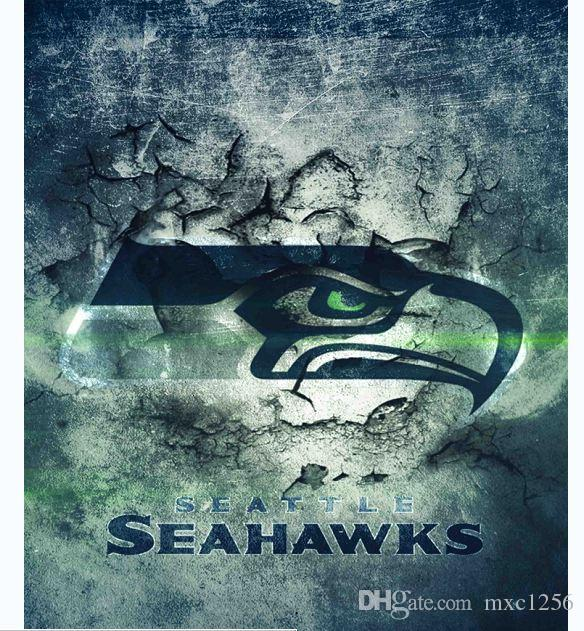 2018 SEATTLE SEAHAWKS Bathroom Fabric Shower CurtainFabric CurtainThin Curtain12 Hooks 12 RingsWaterproof180cm 7171 From Mxc1256 1708