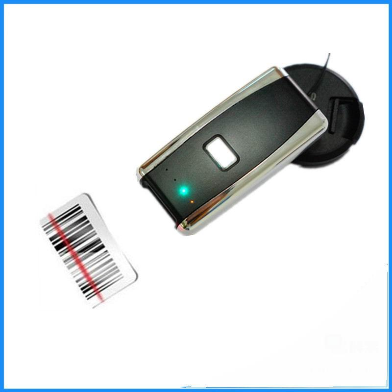 Free shipping Bluetooth Barcode Scanner Portable Laser 1D Bar Code Reader  for Android and ios iphone