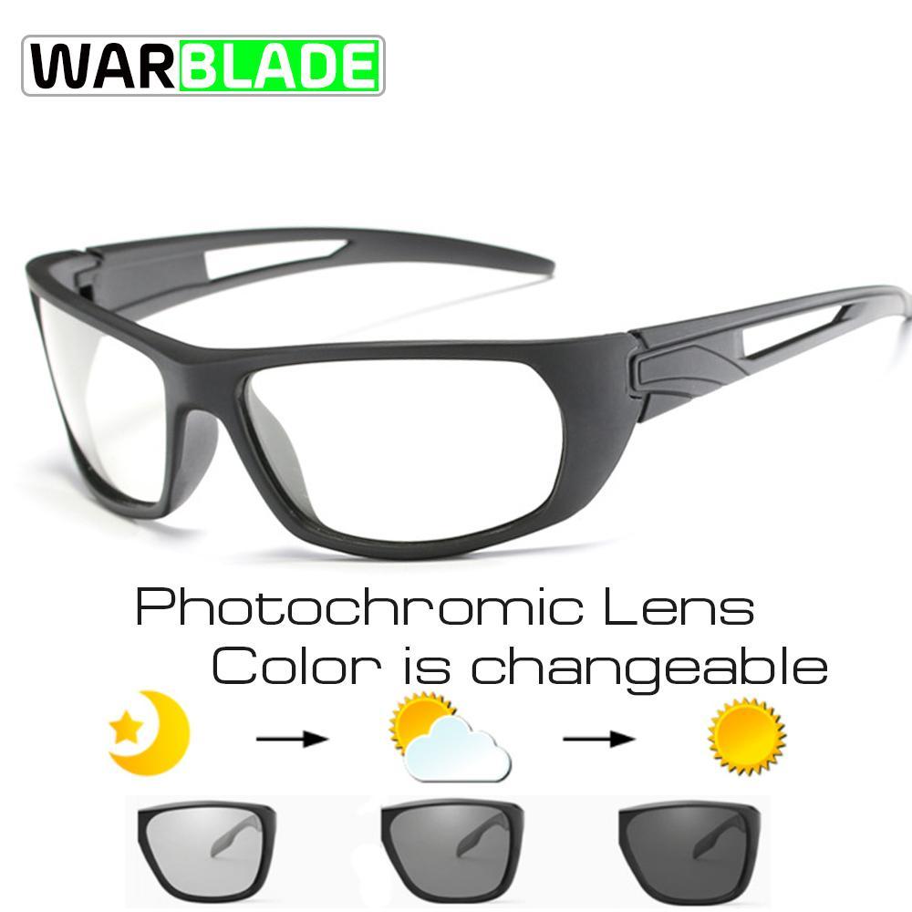31fb6a48f764 2019 Sport Photochromic Polarized Glasses Cycling Eyewear Bicycle Glass MTB  Bike Bicycle Riding Fishing Cycling Sunglasses WarBLade From Qingbale