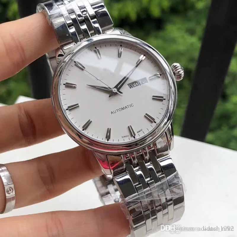 Compre Nuevo Reloj Mecánico De Lujo Para Hombre Relojes De Pulsera  Automáticos De Primeras Marcas Relojes Militares Reloj Para Hombre De Acero  Inoxidable De ... 17464073b1a3