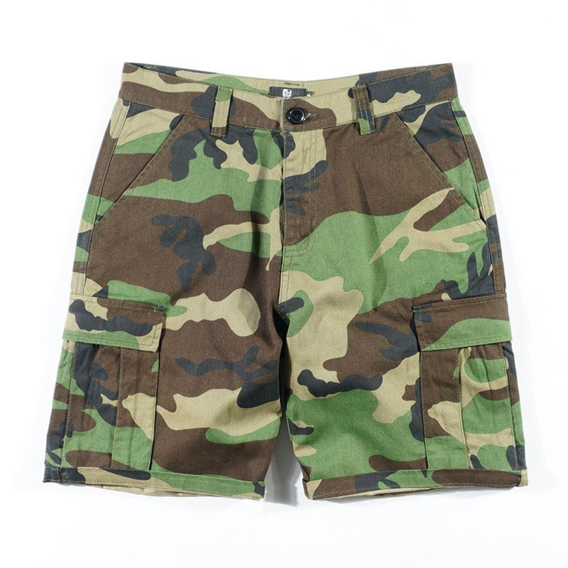 777020dcd6 2019 Original Vintage Leisure Camo Shorts Straight Jeans Casual Summer  Multi Pocket Shorts Options From Roberr, $92.75 | DHgate.Com