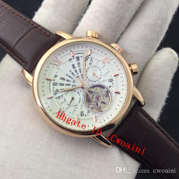 a75f4236e29 Compre Tourbillon Assista Masculino Top Marca De Luxo Relógios Suíço  Automático Mecânico Mão Enrolamento Relógio Perpetual Calendário Semana  Relógio De ...