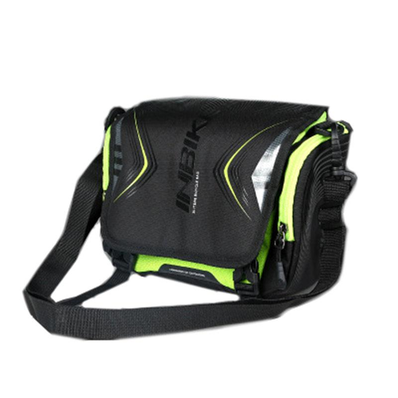7ff2b23f1f Hot Sale INBIKE Large Capacity Bike Front Beam Package Waterproof Outdoor  Sports Riding Mountain Bike Saddle Bag Net Bag Bike Seat Bags Bike Rucksack  Test ...