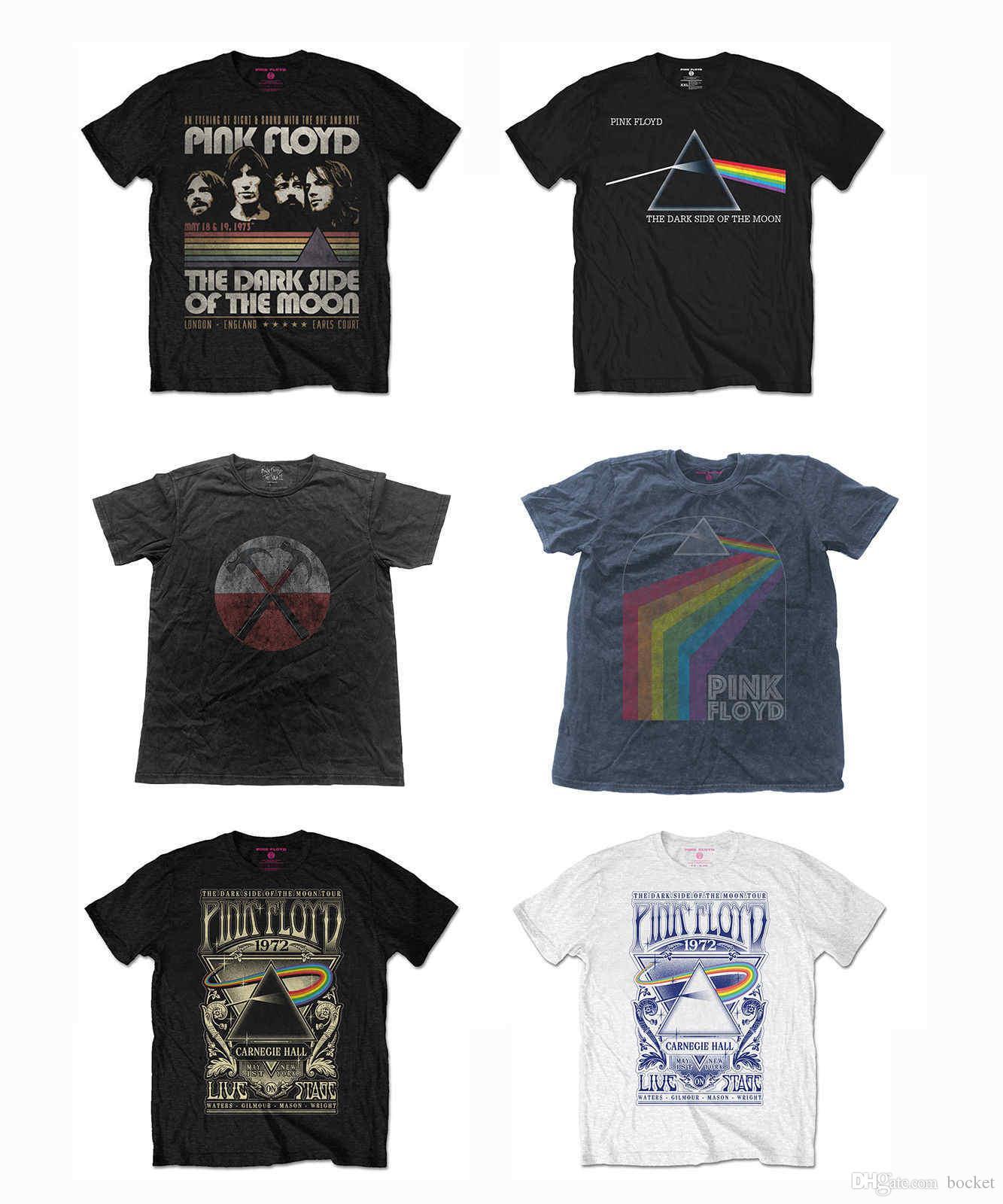 Pink Floyd T-shirt Black Mod:dark Side 2 Clothing Kid T-shirt For Children Other