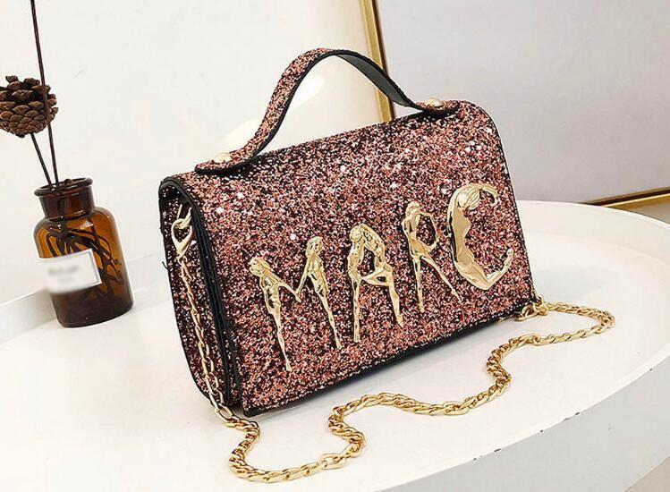 Aelicy 2018 New Women S Chain Messenger Bag Women Handbag Cross Body  Diagonal Leisure Bags Luxury Handbags Women Bags Designer Y2 Bags For Sale  Discount ... 750d73acc4cbf