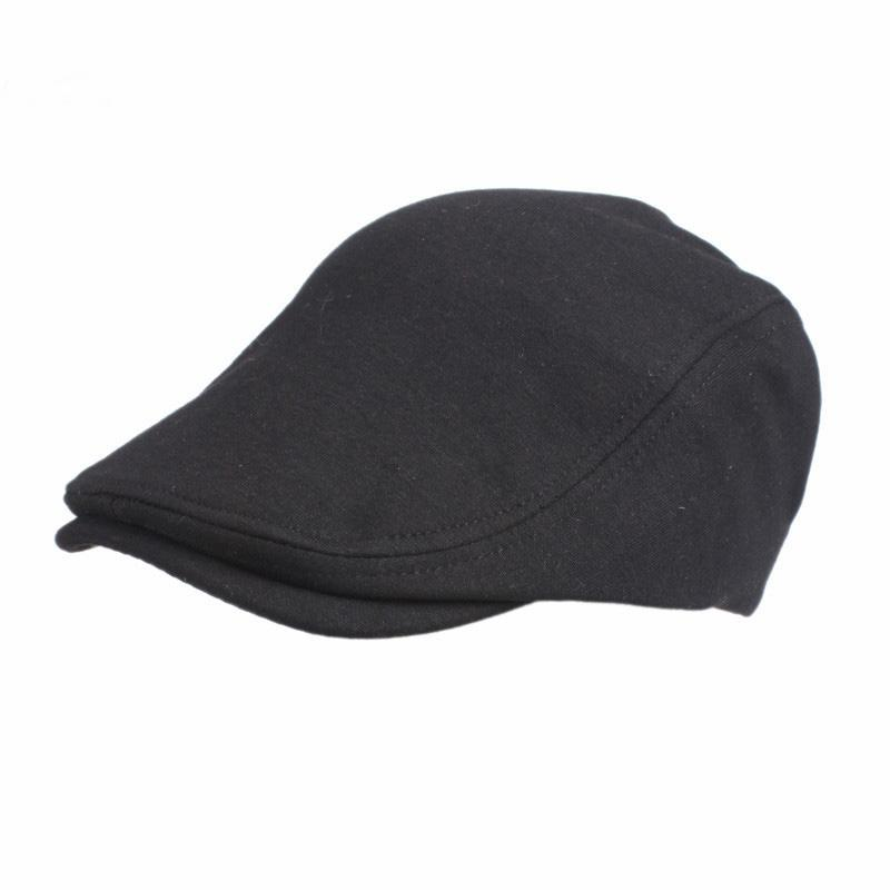 7d4be669 2019 Adjustable Beret Caps For Men Women Spring Summer Outdoor Breathable  Hats Cotton Solid Sun Hat Flat Berets Cap Golf Hat From Wutiamou, $33.37 |  DHgate.