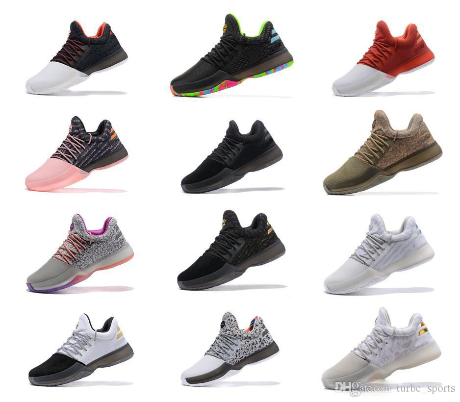 quality design 5c75a 0365a 2018 Harden Vol. 1 BHM Black History Month Mens Basketball Shoes Fashion James  Harden Shoes Outdoor Sports Training Sneakers Size 40 46 Athletic Shoes  Shoes ...