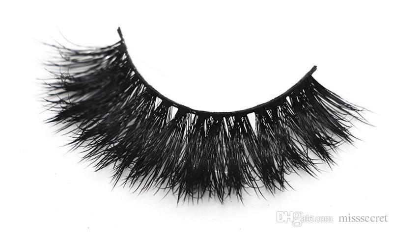 Nuovi 50 stili 3d ciglia di visone spessa incrocio sexy ciglia finte trucco degli occhi visone estensione del ciglio make up strumento