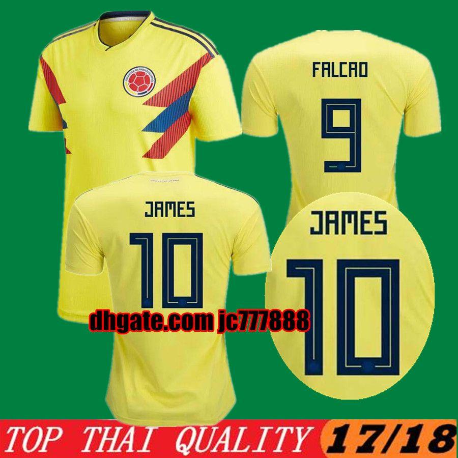 e9b8f4eb6c2 ... italy 11 cuadrado 7 bacca 9 falcao coupon code ea4f2 35386 2018 top  quality 2018 world shopping youth juan guillermo cuadrado colombia soccer  jersey ...
