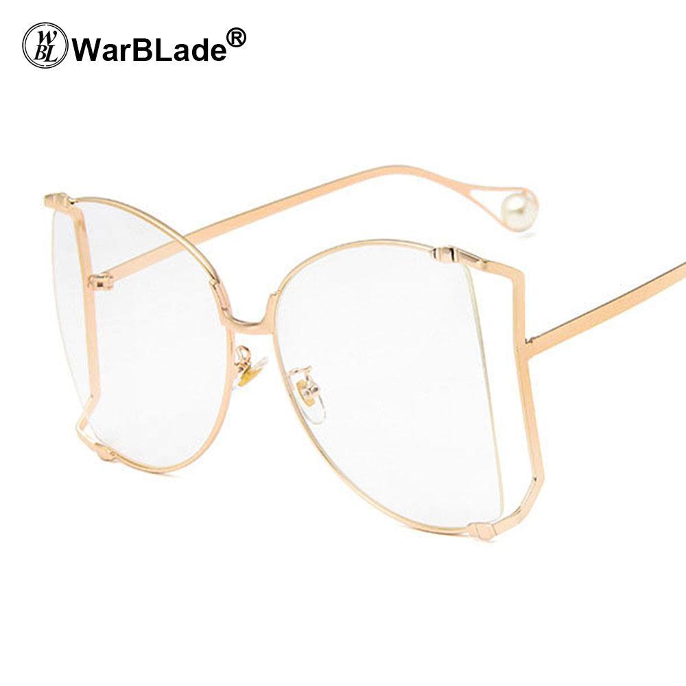 Großhandel Warblade 2018 Optische Brillen Rahmen Männer Klare Linse ...