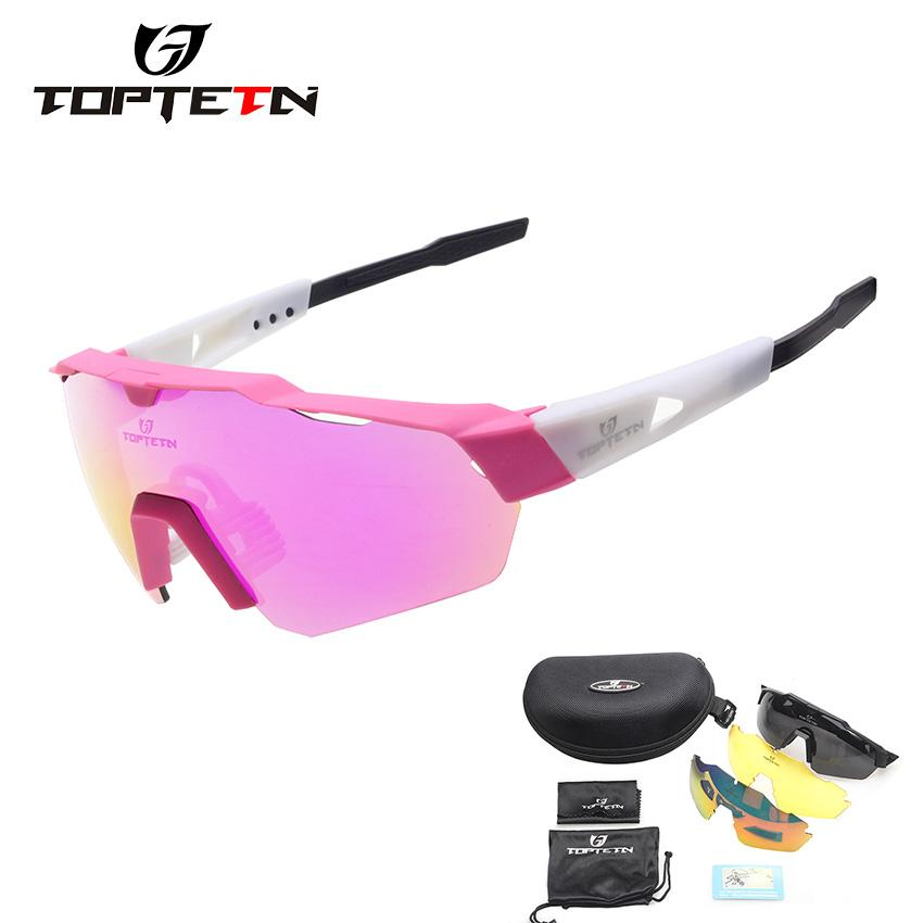 911bb54aa01 2018 NEW 3 Lens Brand Design Outdoor Sports Polarized Cycling ...