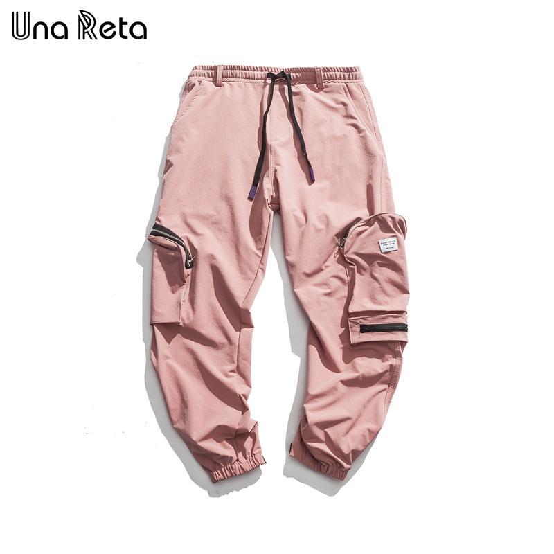 2020 Una Reta Hip Hop Pants Mens Fashion Fitness Pants New