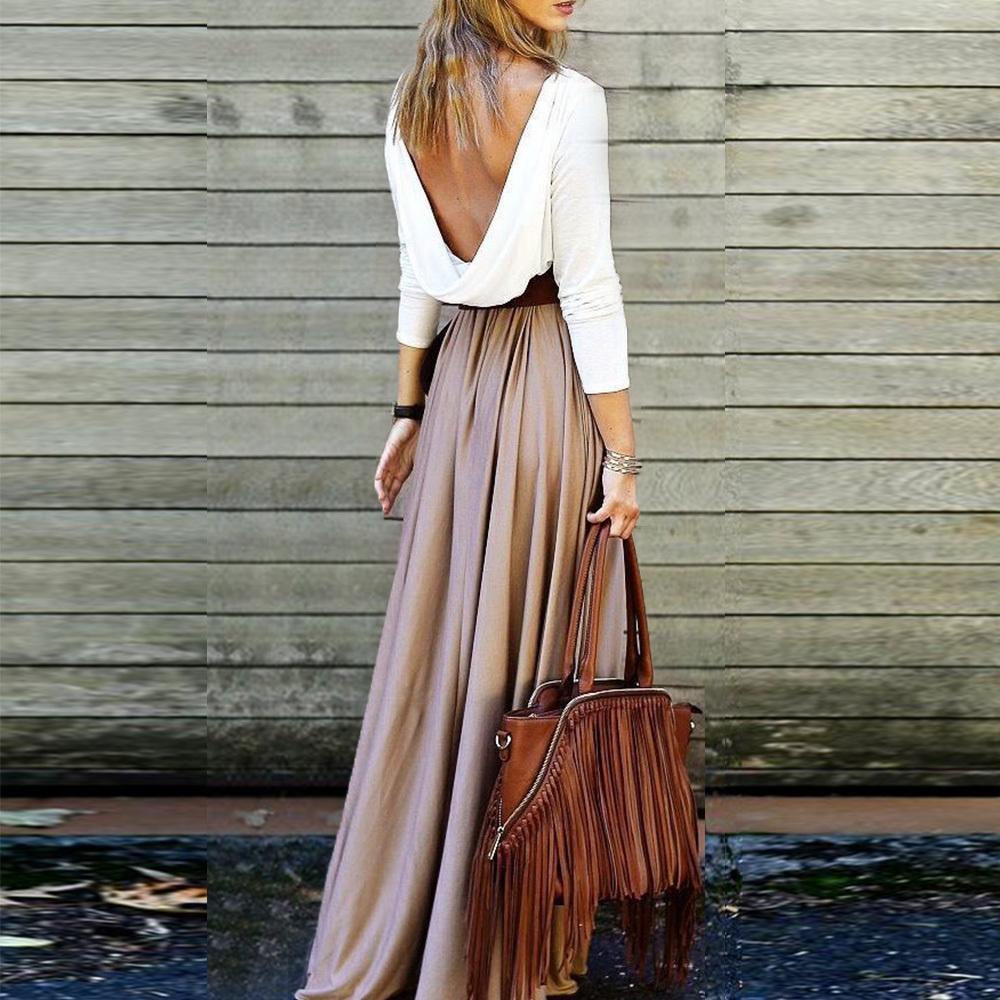 Compre Faldas De Verano Para Mujer De Cintura Alta Falda Larga Falda De Tul  De Boho Para Mujer Streetwear Vintage Jupe Longue Faldas Largas Elegantes  ... dd42a5ac65f5