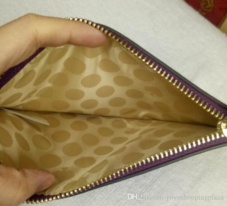 purse handbag women hot selling EMS cheap long leather brand bag for woman