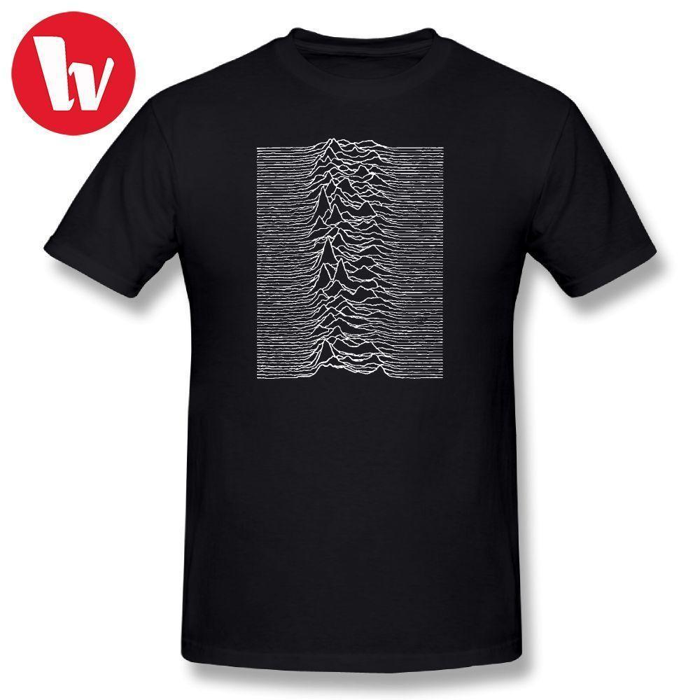 e7acc10d Joy Division T Shirt Unknown Pleasures Joy Division Music Tee Shirt Summer  Men T Shirts Fashion Graphic T Shirt Funny Tshirt Create T Shirts Skull T  Shirts ...