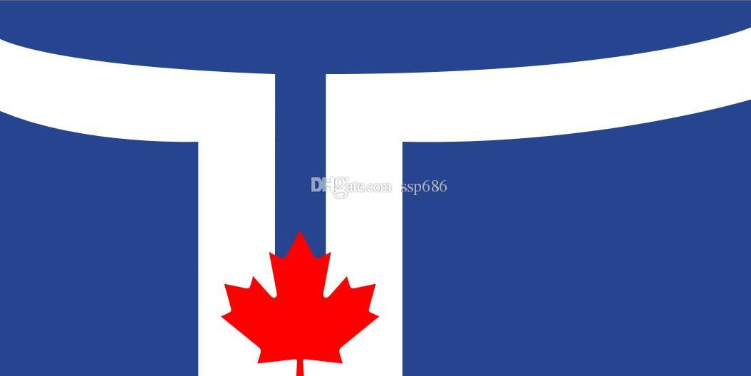 NEW 3ftX5ft Canadian FLAG POLE BANNER 90x150cm Free Shipping !