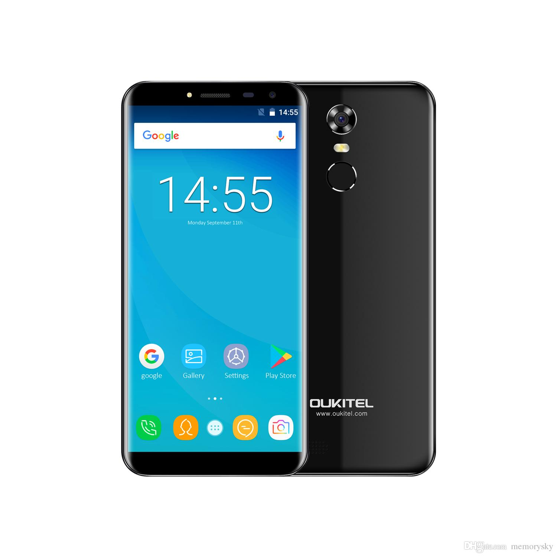 Oukitel C8 5 5 Smartphone 2GB RAM 16GB ROM 4G Android 7 0 1 3Ghz Quadcore Cell Phone Oukitel C8 4G LTE Smartphone line with $97 49 Piece on Memorysky s
