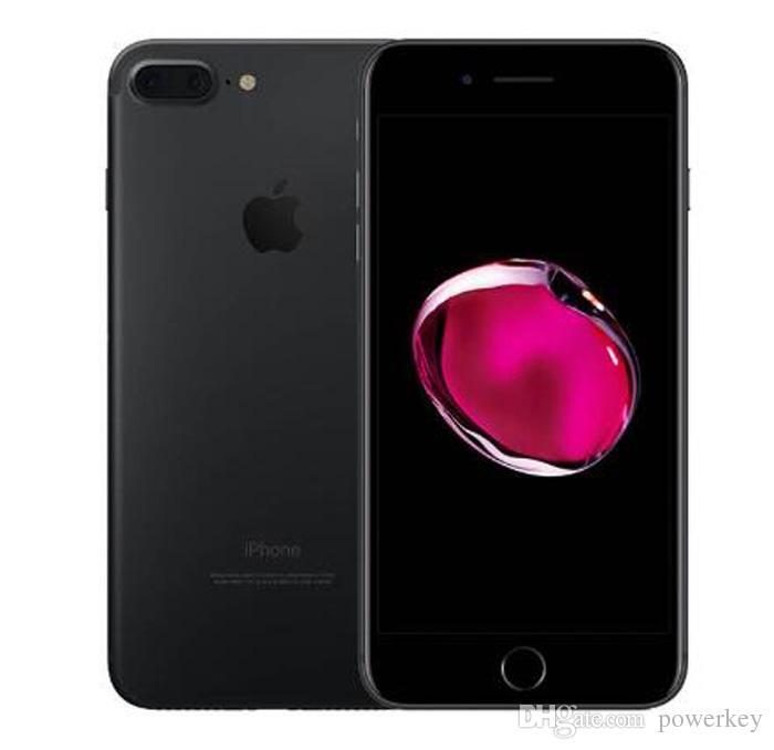 Entsperrt Refurbished Apple iPhone 7 Plus 5,5 '' 12.0MP LTE-Mobiltelefon 3G RAM 32G / 128G / 256G ROM Ohne Touch-ID-Starttaste funktioniert