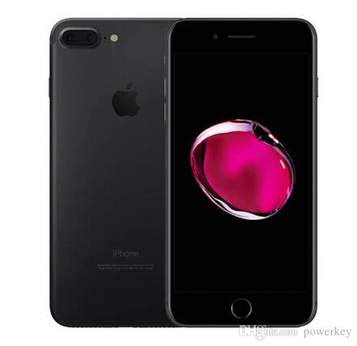 Unlocked Refurbished Apple iPhone 7 Plus 5.5'' 12.0MP LTE Mobile phone 3G RAM 32G/128G/256G ROM Without Touch ID home button work