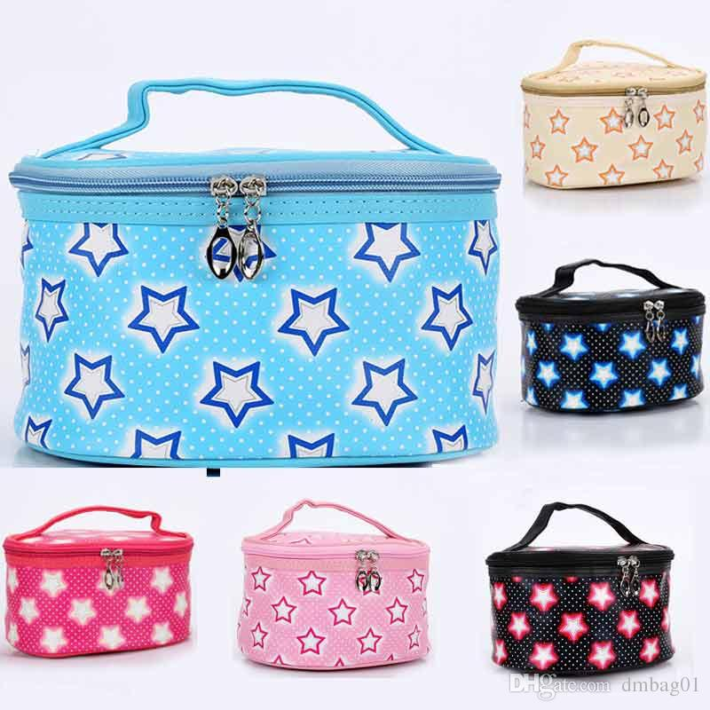 New style Korean star storage bag makeup bag cosmetic bag for travel makeup organizer and toiletry