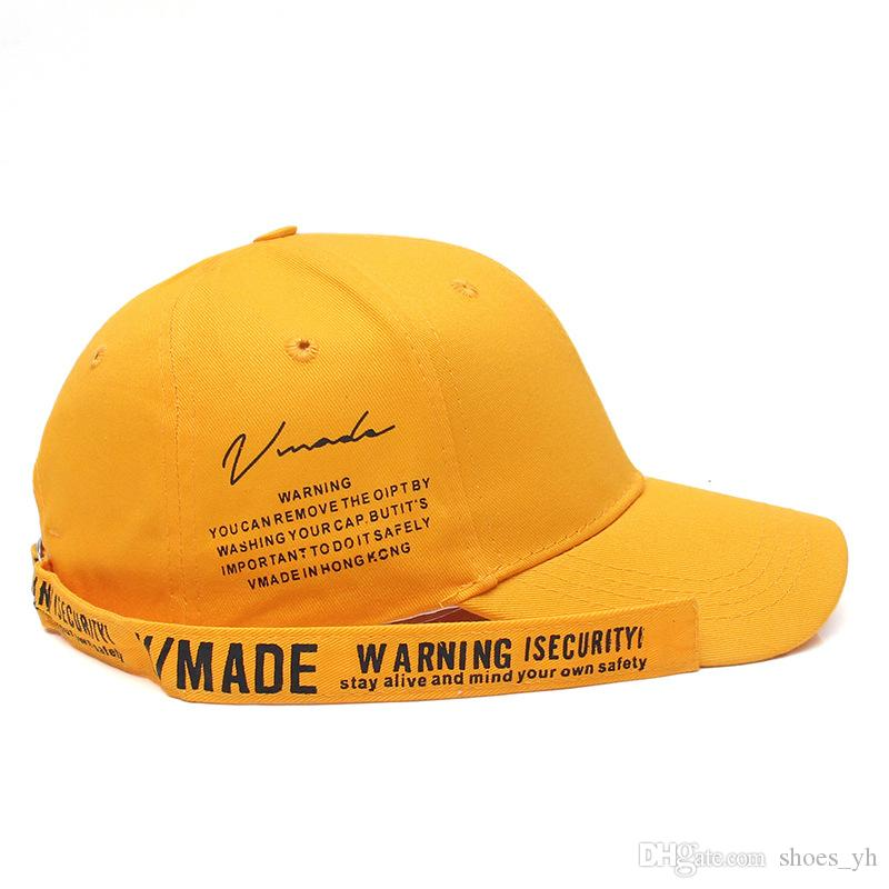 Hip Hop Hat Yellow Letter Print Embroidered Duck Tongue Baseball Cap  Outdoor Sports Sun Visor Adjustable Hat JX311A Men Hats Zephyr Hats From  Shoes yh cdc538181e64