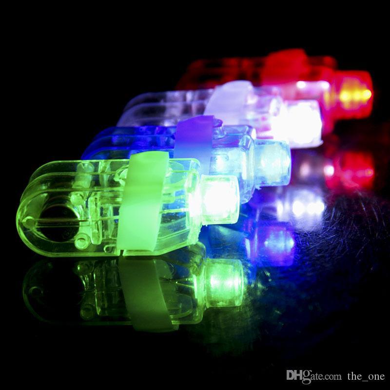 Colorate luci a LED incandescente illuminano gli anelli Gadget di partito Bambini che emettono il giocattolo di notte regalo