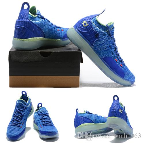 795561839fd8 2018 New Kevin Durant 11 Basketball Shoes Men KD 11 Gold Championship MVP  Finals Sports Shoes Training Sneakers Running Shoes Size 40 46 Basketball  Shoes ...