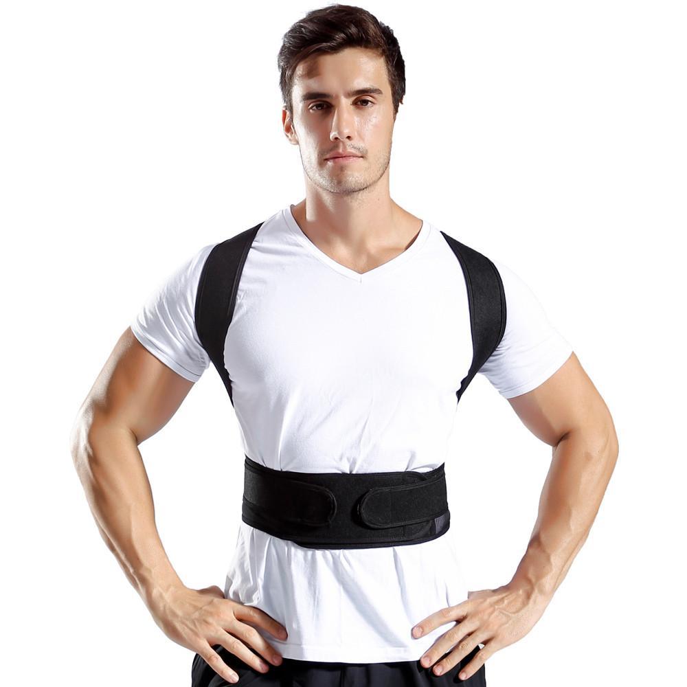 11bcc4c974c25 Posture Corrector Comfortable Back Support Brace Shoulders And Upper Back  Back Support Cheap Back Support Posture Corrector Comfortable Back Online  with ...