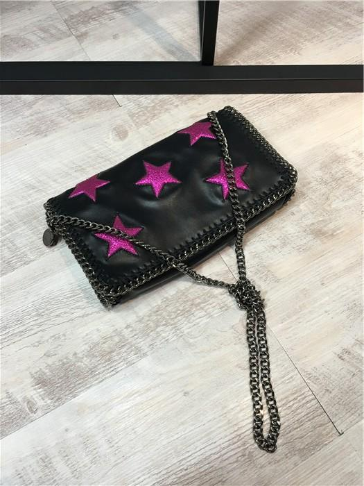 Luxury Stella Falabella Shaggy Deer Black with Red Star Flap Crossbody  Cover Shoulder Bag Shaggy Deer Bag Online with  98.21 Piece on  Lgg369396198 s Store ... a48151b0adf51