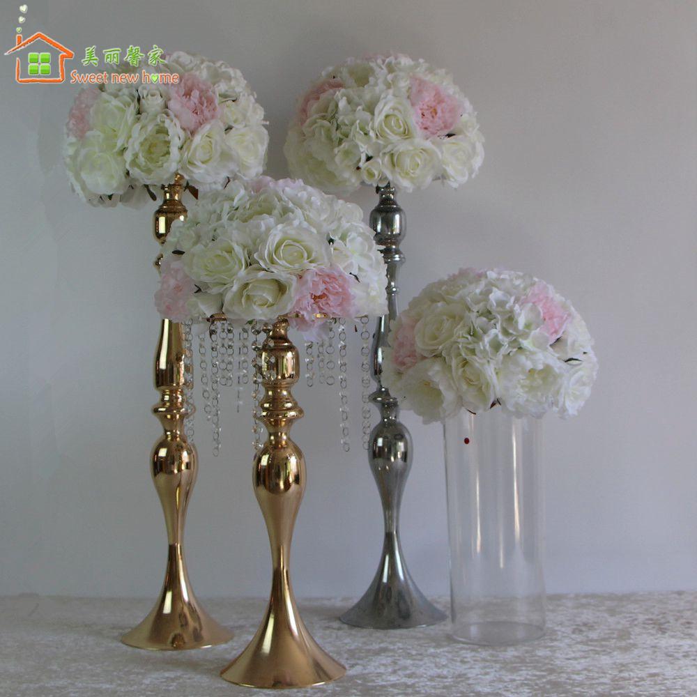 Online Cheap Sweet New Home Table Centerpiece Flower Half Balls