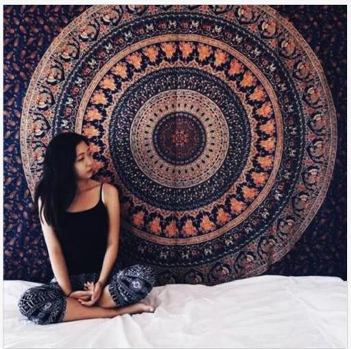 Tapetries dossal decrative tuch sofa tisch cover150 * 200cm polyestergewebe wärmeübertragung digit druck Südostasiatischen afrikanischen design