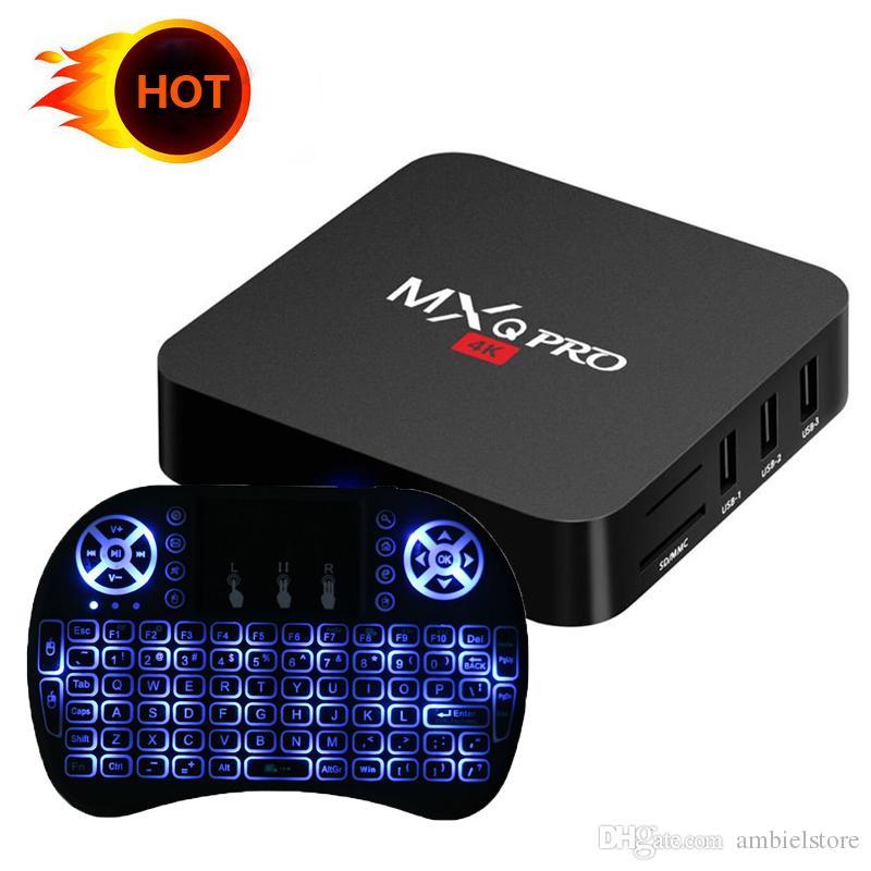 Mxq Pro 4k Android 71 Smart Ott Tv Box Rk3229 Quad Core 1gb 8gb