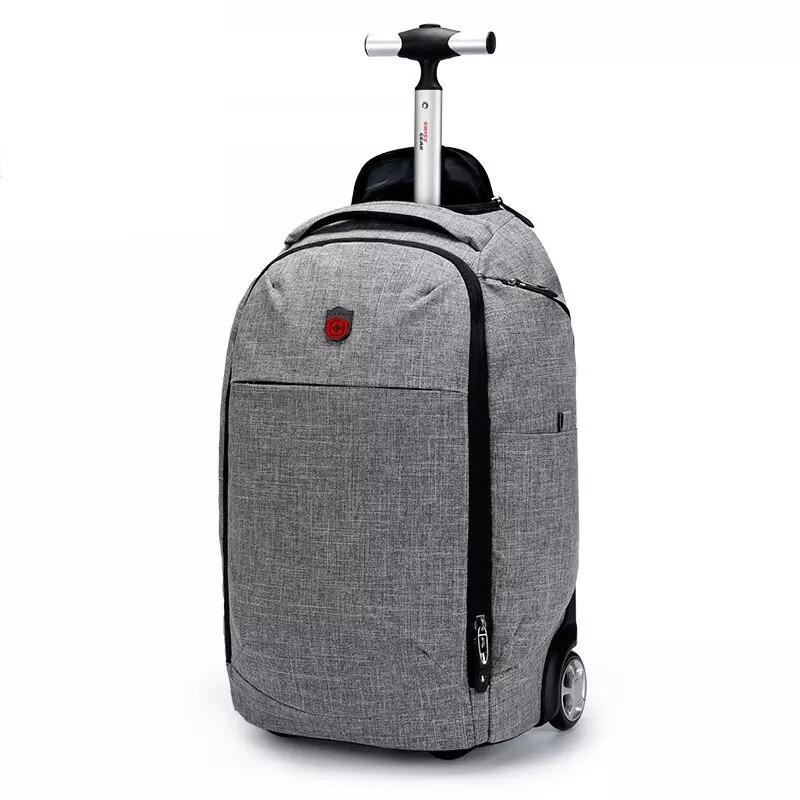 Swiss Army Knife Bag Trolley Case Boarding Business Suitcase Luggage Backpack Dual Use Fashion Carry Bags Toiletry From Amoyshoes