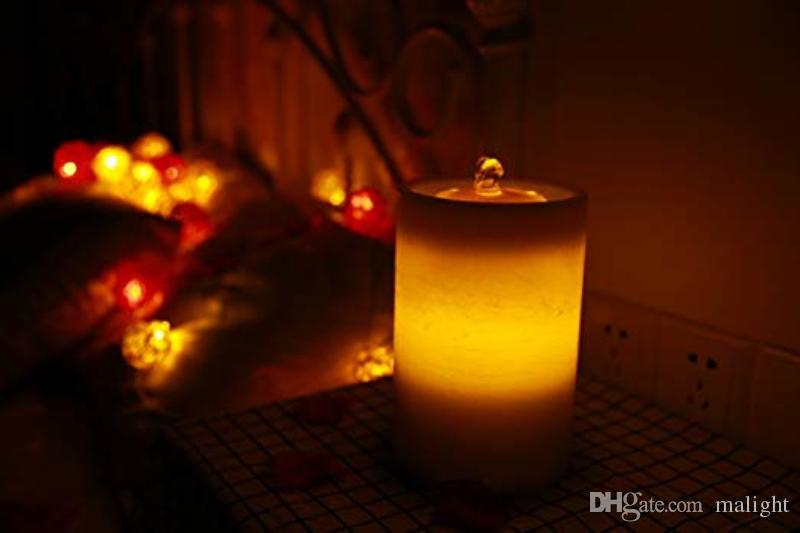 Grosshandel Zylinder Romantische Hochzeit Licht Bar Geburtstag