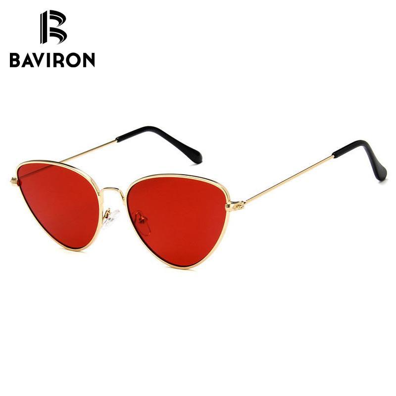 BAVIRON 2018 Vintage Cat Eye Sunglasses Women Brand Designer UV400 ...