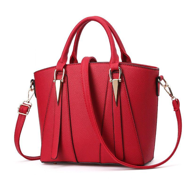 9c776bef82 MONNET CAUTHY Women S Bags Classic Elegant Ladies Leisure New Fashion  Handbags Solid Color Wine Red Purple Grey Black Blue Totes Wholesale Bags  Discount ...