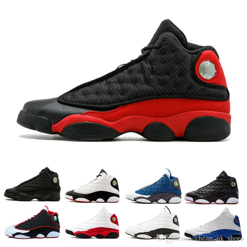 2018 13 Men Basketball Shoes Sneaker Altitude Black Cat Chicago Bred Red  White Dmp Hyper Royal Italy Blue Playoffs Sports Shoes Us 8 13 Shoes Mens  Online ...