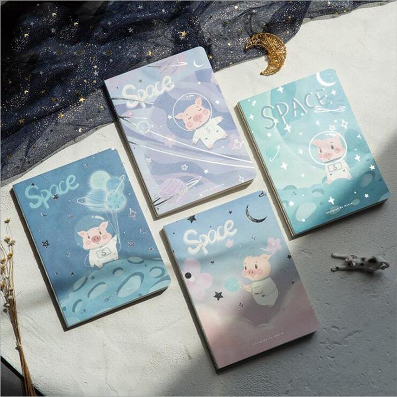 Acquista new creative a notebook cartone animato spazio maiale