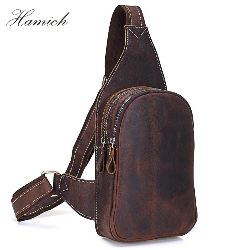 72214a07f105 Hamich men messenger bags genuine leather mens bags chest pack jpg 800x800 Messenger  bag chest
