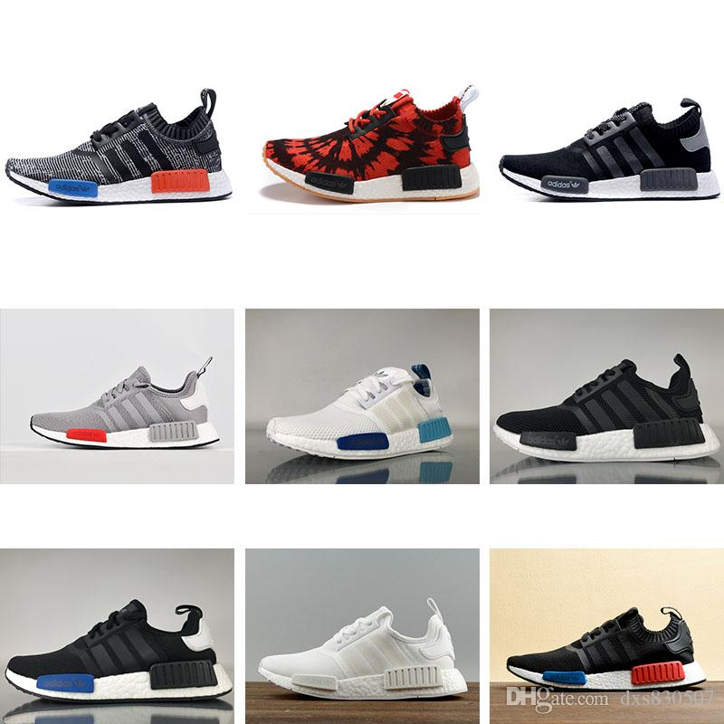 dccf315c660f4 norway compre adidas nmd r1 2018 runner mesh triple blanco negro azul rosa  verde hombre mujer