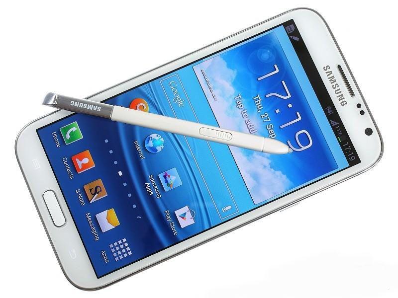 Original Samsung Galaxy Note 2 II N7100 Note2 5,5 polegadas Quad Core 2GB / 16GB Android Smartphone GSM 2G 3G Recuperado Mobile Phone