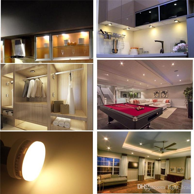 GX53 LEVOU Luz Do Armário SMD2835 5 W 7 W 9 W Lâmpadas Led 85-265 V de Alto Brilho Lâmpadas LED Spotlight